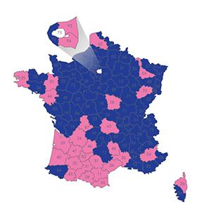 Résultats des éléctions départementales 2015