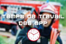 Réunion à la DGSCGC sur le temps de travail des SPP